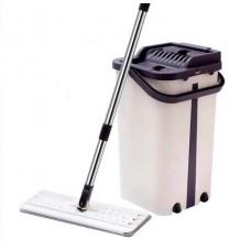 Швабра с ведром со складной ручкой, системой отжима  комплект для уборки Scratch Anet G90