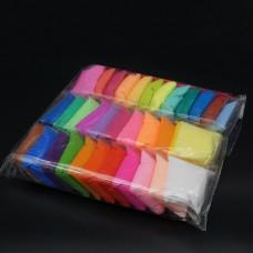 Пластилин не липкий с набором стеков 36 цветов Super Clay 13-G