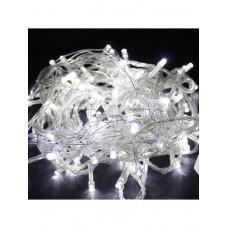 Гирлянда с прозрачным проводом 100 LED 10 м белая  Prolight