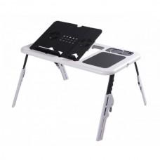 Столик подставка с охлаждением для ноутбука 2 USB E-Table LD-09