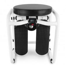 Тренажер силовой многофункциональный фитнес-стул Memos 12-88 Бело-черный