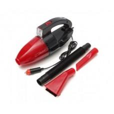 Пылесос автомобильный Vacuum cleaner car от прикуривателя Красный