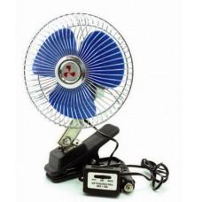 Вентилятор автомобильный 12 V  CHANGLI CROWN на прищепке