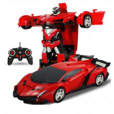 Машинка-трансформер Робот Автобот на радиоуправлении Deformation Robot Lamborghini