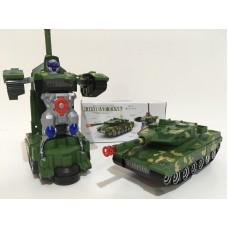 Танк-трансформер Робот Автобот COMBAT TANK YJ388