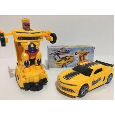 Машинка-трансформер Робот Автобот Бамблби Bumblebee Deform Robot