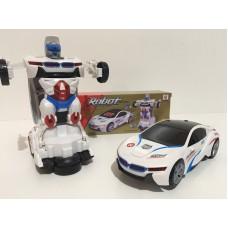 Машинка-трансформер Робот Автобот Полицейская машинка Deform Robot