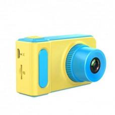 Фотоаппарат детский цифровой DVR Baby Camera V7 Желто-голубой