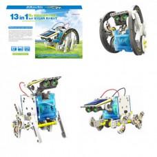 Конструктор на солнечных батареях Solartoy Robot Робот 13 в 1