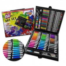 Набор для рисования Набір для малювання Чемодан творчества в чемоданчике 150 шт Разноцветный Art Set