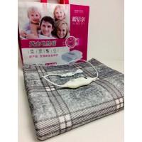 Электропростынь 120*150 см 80 Вт электро грелка электрическая простынь одеяло с регулятором температуры Electric Blanket Gray