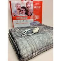 Электропростынь 150*170 см 80 Вт электро грелка электрическая простынь одеяло с регулятором температуры Electric Blanket Grey