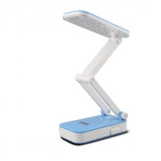 Лампа светодиодная аккумуляторная настольная трансформер складная Kamisafe KM 6686C Blue