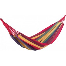 Гамак подвесной с прочной ткани 200х100 см в чехле Мультиколор полосатый Relax