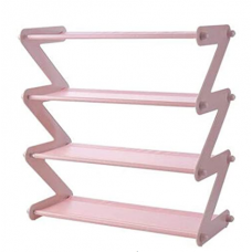 Полка для обуви органайзер NEW Simplicity YH-8802_4 Small Розовый