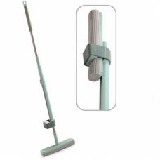 Швабра с отжимом и телескопической ручкой MHZ R87925 Голубая