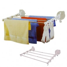 Сушка бельевая Сушилка для белья настенная Mobil Towel Telescopic Rack 40x70 см