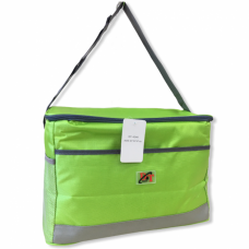 Термосумка на 25 л, сумка-холодильник 40х23х27 см D&T 4246 Салатовая