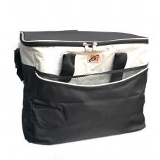 Термосумка на 33 литра, сумка-холодильник 42х25х32 см D&T Черная
