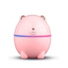 Увлажнитель воздуха и ночник 2в1 от USB 220 мл Humidifier Polar Bear Розовый