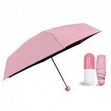 Зонт мини-зонт в капсуле Capsule Umbrella Pink (Розовый)