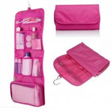Органайзер дорожный сумочка косметичка Travel Storage Bag Pink