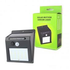 Настенный уличный светильник 24 LED Solar Motion Sensor Light