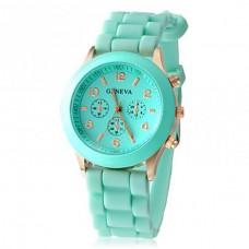 Женские часы Geneva мятные