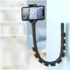 Штатив гибкий держатель для телефона с присосками Cute Worm Lazy Holder