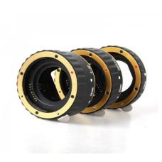 Макрокольца для Canon с поддержкой автофокуса (gold)