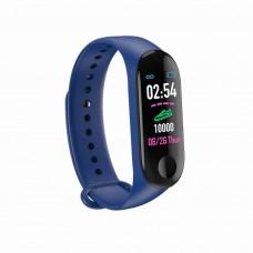 Фитнес браслет Smart Band M3 с пульсометром Blue