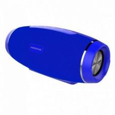 Колонка стерео портативная акустическая Bluetooth Hopestar H27 Blue