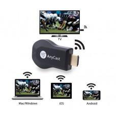 Медиаплеер Wi-Fi HDMI ресивер AnyCast M9 Plus TV Stick