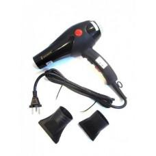 Фен для волос профессиональный мощный SHINON SH-8103 Черный