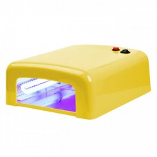 Лампа сушка для ногтей УФ UV Lamp 36W сушилка для маникюра и педикюра с таймером New-818  Yellow