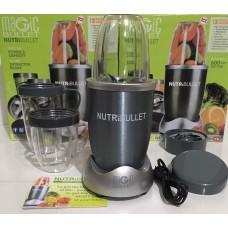 Блендер фитнес-блендер измельчитель кухонный Nutribullet Basic 600 Вт 3 чаши Серый