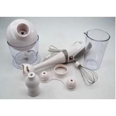 Блендер миксер измельчитель погружной PROMOTEC PM-586 White