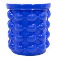 Форма для изготовления и хранения льда двухкамерная Ice Cube Maker Genie Blue