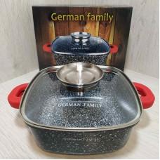 Гусятница утятница гранитная жаровня казан German Famili GF-052-20 3.5 л