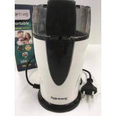 Кофемолка роторная измельчитель RAINBERG RB-321 350 Вт 70 г Черно-белая