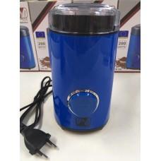 Кофемолка измельчитель PROMOTEC PM-596 50 г 200 Вт Blue