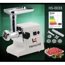 Мясорубка электрическая шнековая с реверсом Henschll HS-0033 2500 Вт