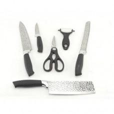Набор кухонных ножей 6 предметов ZP 021