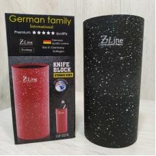 Подставка колода круглая для ножей 22 см GF-S08B ZLine Black