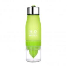 Бутылка-соковыжималка H2O Water Bottle  500 мл Green