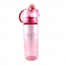 Бутылка с распылителем спортивная для воды и напитков New B 600 мл Pink