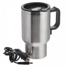Термокружка с подогревом автомобильная кружка-кипятильник Electric Mug 350 мл чайник-кружка, аксессуары в машину для мужчин