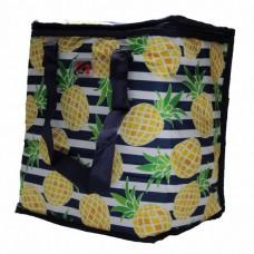 Термосумка, сумка-холодильник 32х20х35 см 22 л Sannen Cooler Bag С ананасами