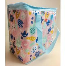 Термосумка, сумка-холодильник 32х20х35 см 22 л Sannen Cooler Bag Розовая