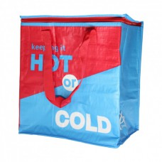 Термосумка, сумка-холодильник 32х20х35 см 22 л Sannen Cooler Bag Красно-синяя